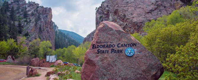Eldorado Canyon Sign