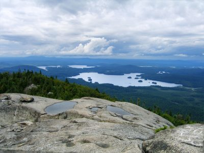 Ampersand Mountain Top