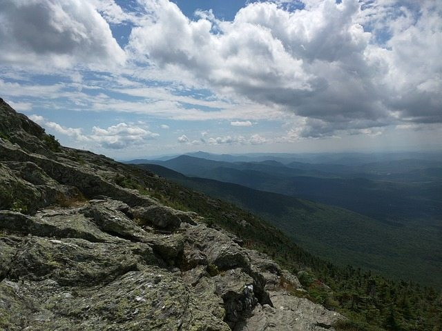 Hiking View in Lake Placid NY