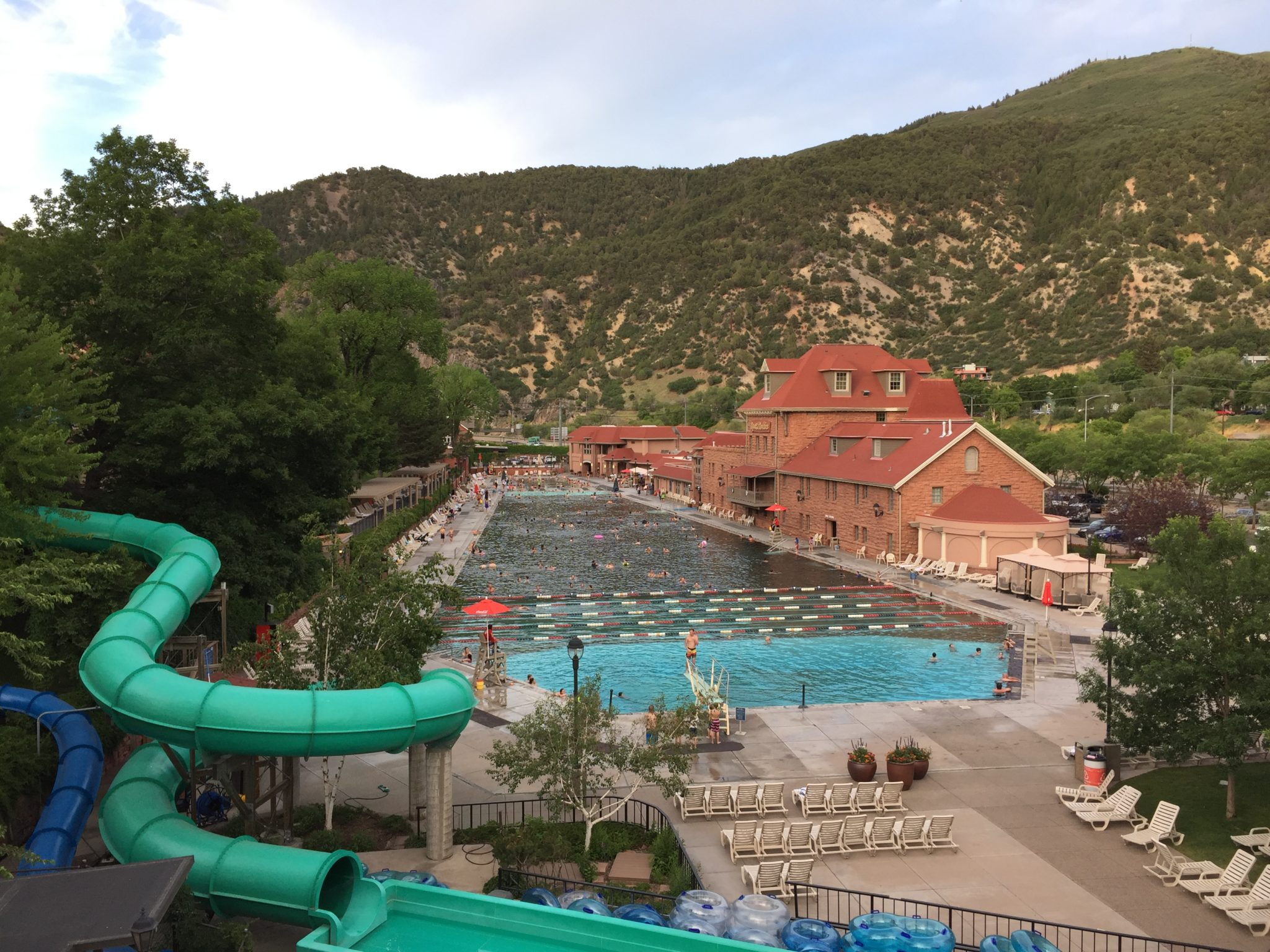 Glenwood Springs Resort Hotel Pool