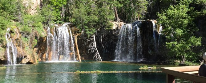 Hanging Lake Near Glenwood Springs