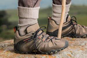 You should wear these kind of shoes on Mount Moosilauke.